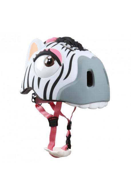 Kask rowerowy CRAZY SAFETY Zebra
