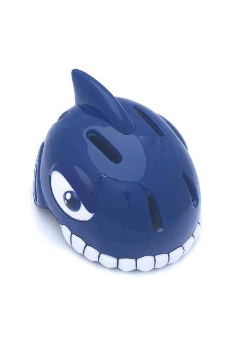 Kask rowerowy CRAZY STUFF Niebieski Rekin