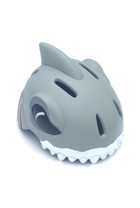 Kask rowerowy CRAZY STUFF Biały Rekin