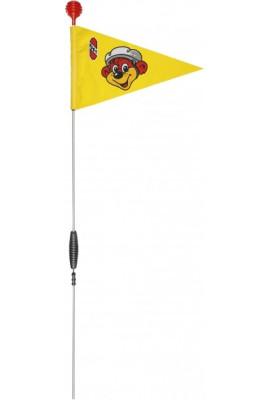 Flaga do rowerów / hulajnogi PUKY SW 3 9223 żółty