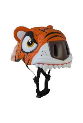 Kask dziecięcy CRAZY SAFETY Tygrys