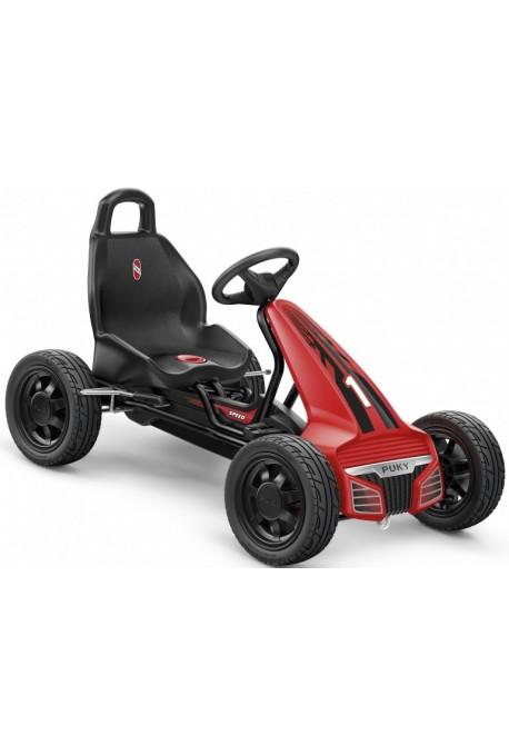 Gokart PUKY F 550 L 3640 czarny / czerwony opony