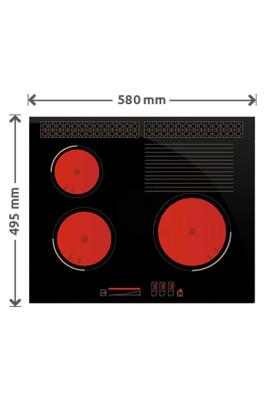 Płyta gazowa SOLGAZ GPC 3+1