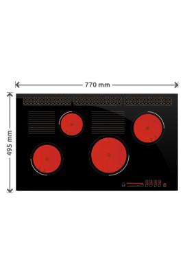 Płyta gazowa SOLGAZ GPC 4+2