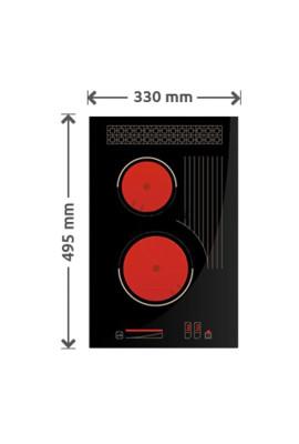 Płyta gazowa SOLGAZ GPC 2+1
